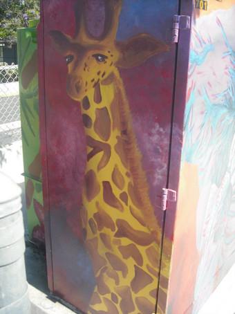 Wegeforth Elementary School Utility Box Mural