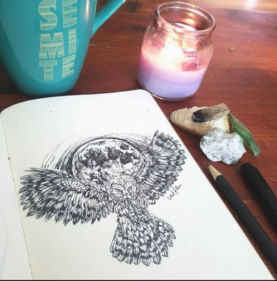 DAY 14: Owl