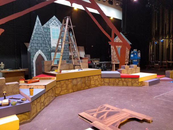 Beauty & The Beast Stage
