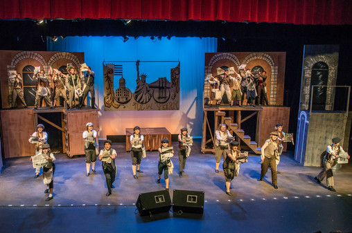 Newsies Junior Theater Live Production