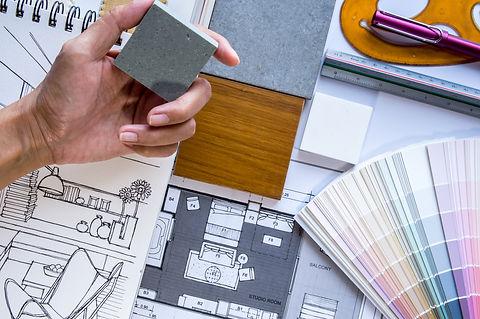 Эскизный дизайн проект квартиры