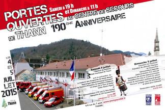 190ème anniversaire du centre de secours de THANN les 4 & 5 juillet