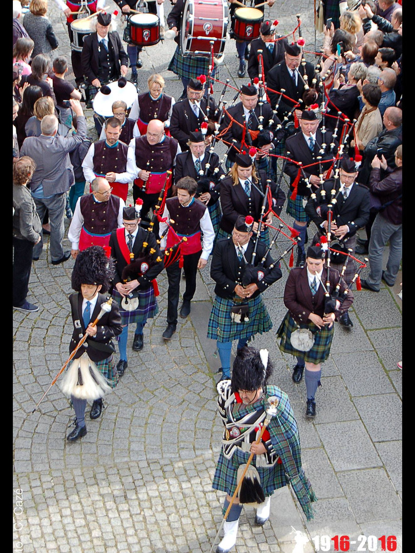 United pipers for peace 2016