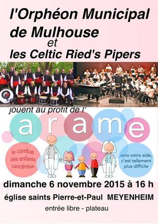 Concert pour l'ARAME