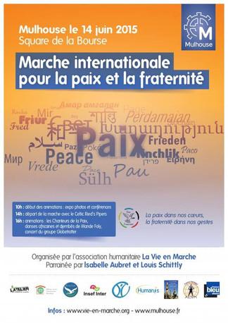 Marche internationale pour la paix et la fraternité le Dimanche 14 juin 2015