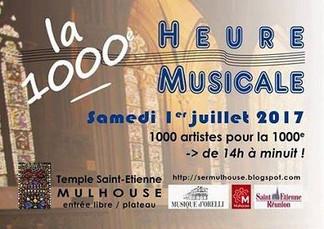 La 1000e heure musicale
