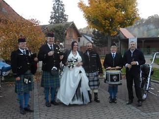 Un mariage aux couleurs celtiques