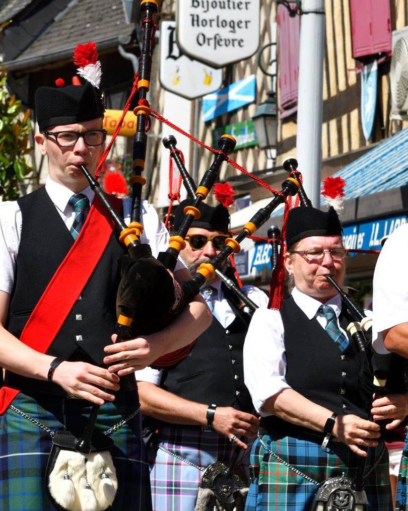 Fête franco-écossaise