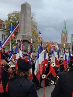 Cérémonie pour l'UNC du Haut-Rhin / OPEX / FINUL