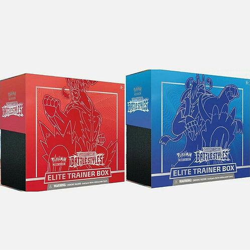 Pokemon: SS5 Battle Style Elite Trainer Box - Blue Box