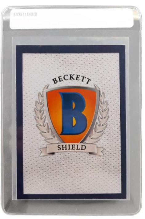 50/Pack - Beckett Shield Semi Ridge Card Saver