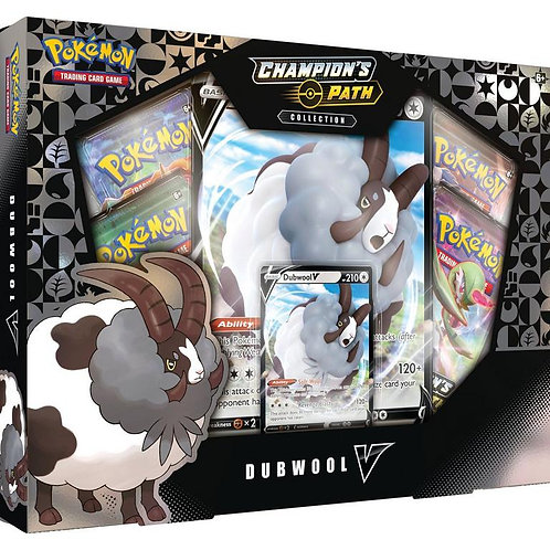 Pokemon: Champion's Path Dubwool V Collection