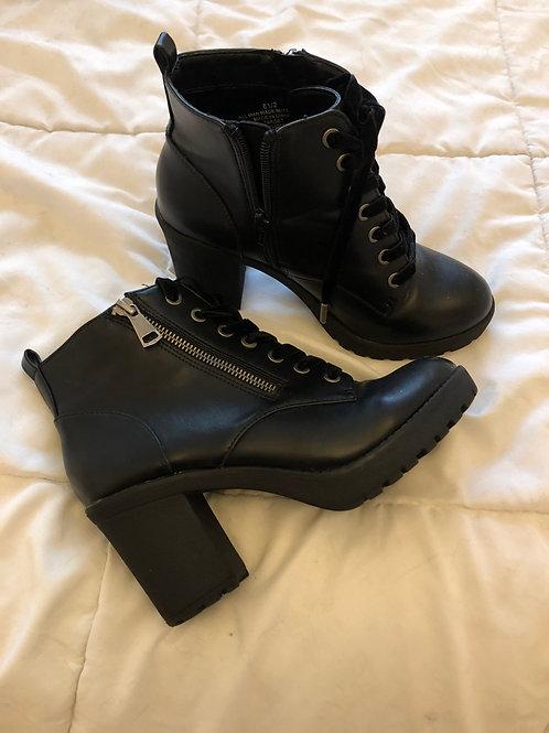 Worn Heel Boots
