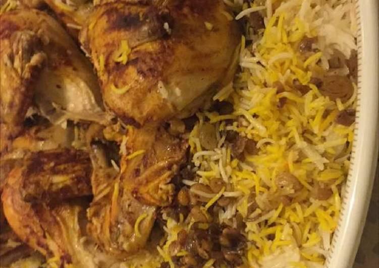 مكبوس الدجاج بالطريقة الكويتية
