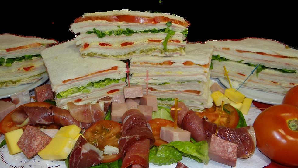 Sandwiches triples comunes