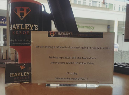 Hayley's Heroes Raffle