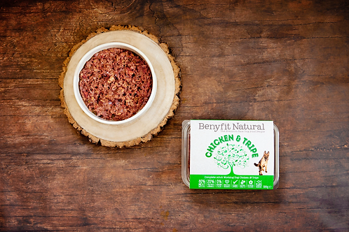 Chicken & Tripe Complete Adult Raw Working Dog Food