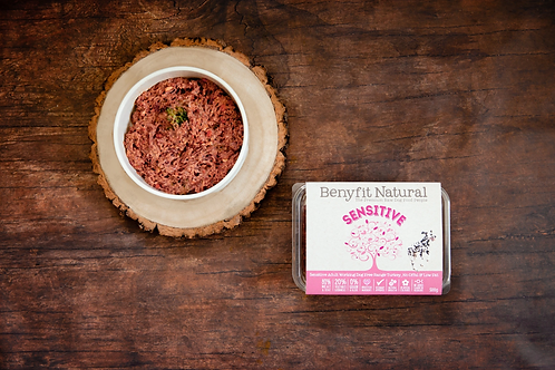 Sensitive Complete Adult Raw Working Dog Food