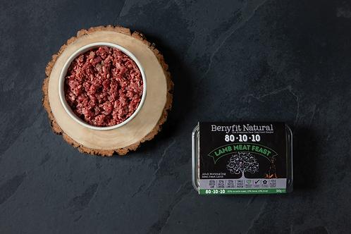 80*10*10 Lamb Meat Feast Adult Raw Working Dog Food