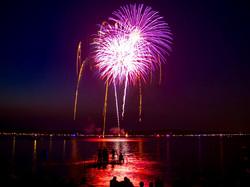 Lake Minnetonka fireworks.