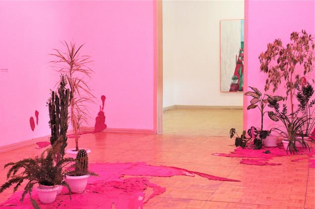 My pink room. fragment. 2018 installation / Моя розовая комната. фрагмент. 2018 инсталляция