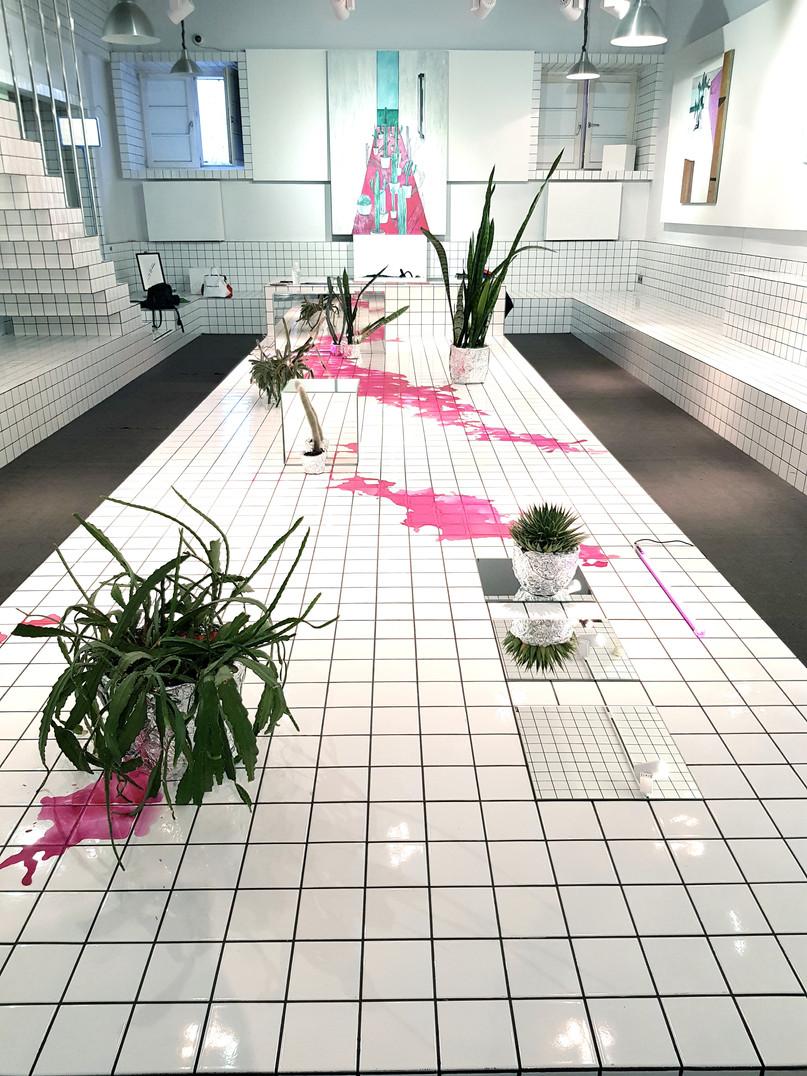 When The Mirrors Appeared In My Pink Room / What Left / My Pink Room /  2018 installation / Когда в моей розовой комнате появились зеркала / То, что оставила / Моя розовая комната /  2018 Инсталляция