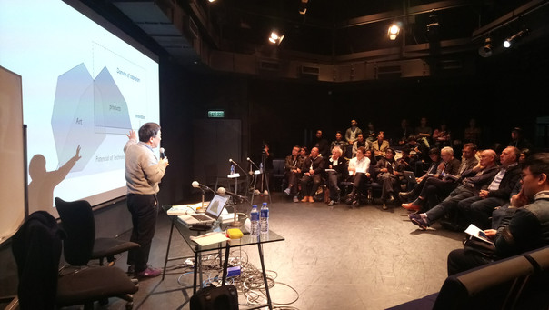 Prof. Masaki Fujihata's presentation