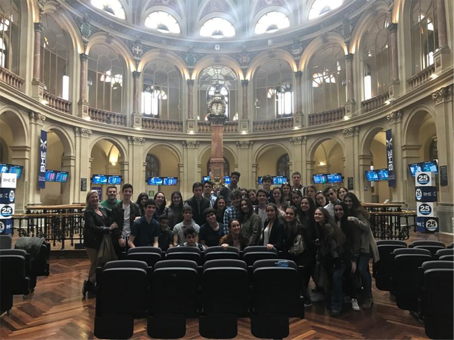 Visita a la Bolsa de Madrid