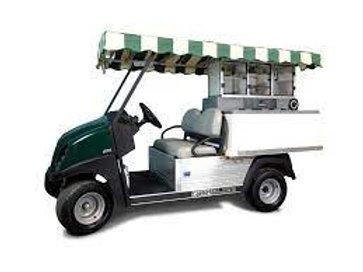 2021 Golf Tournament Beverage Cart