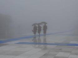 43. Mönche im Nebel (Myanmar)