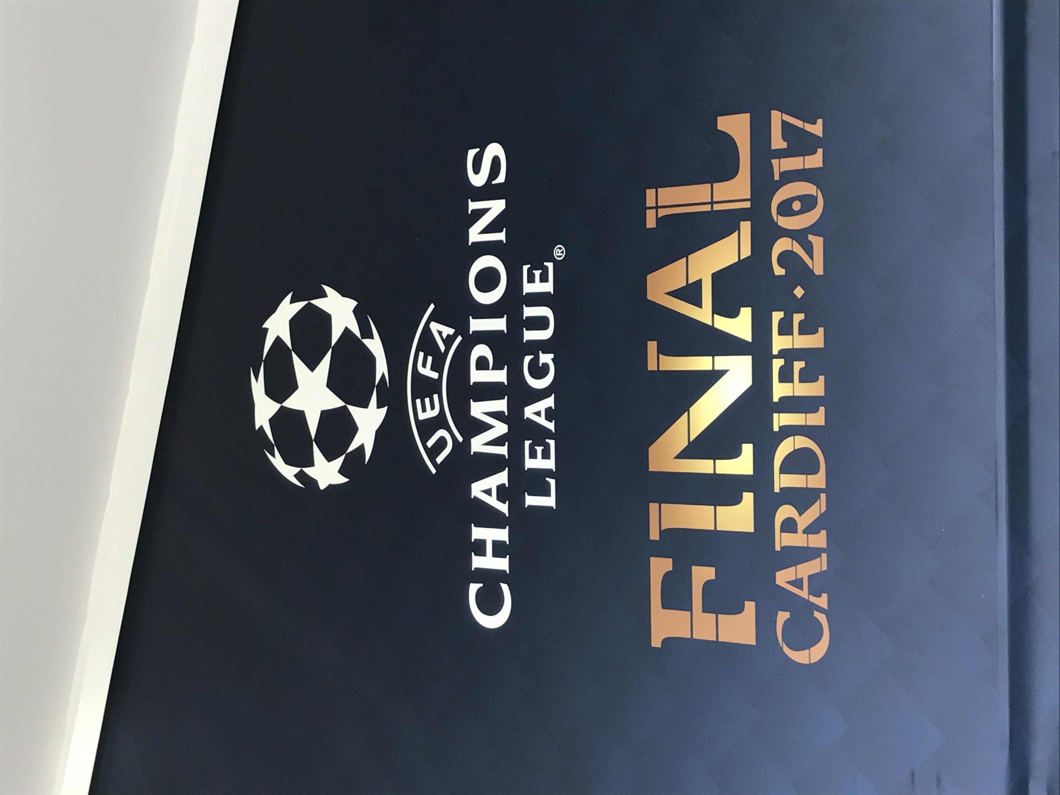 UEFA display 2017