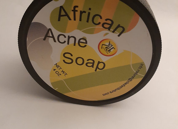 African Acne Soap Paste