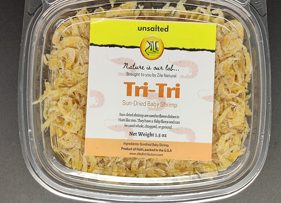 Unsalted Tri Tri (Dried Baby Shrimp)