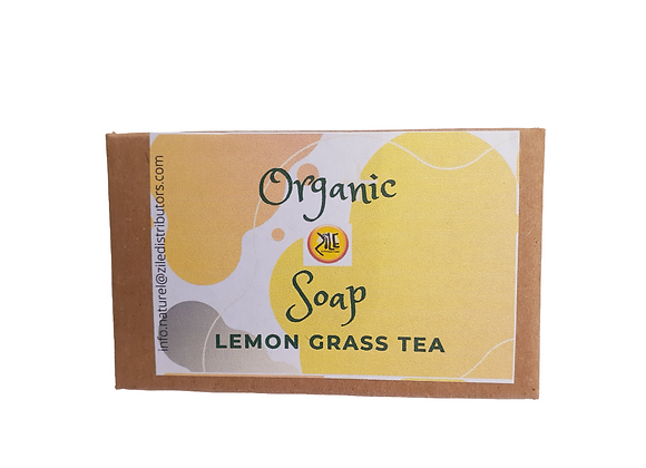 Organic Lemongrass Tea Soap