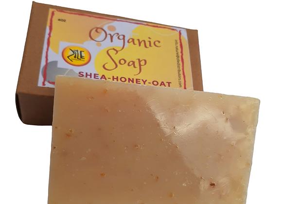 Shea-Honey Oat Soap