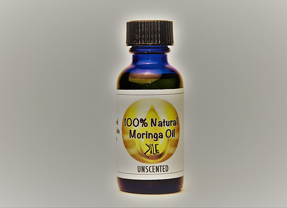 100% Natural Moringa Oil -Unscented