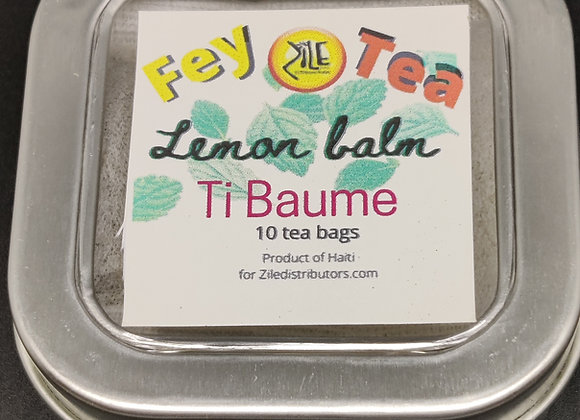 The Ti baume. Lemon balm tea