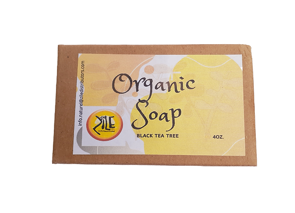 Organic Black Tea Tree Soap
