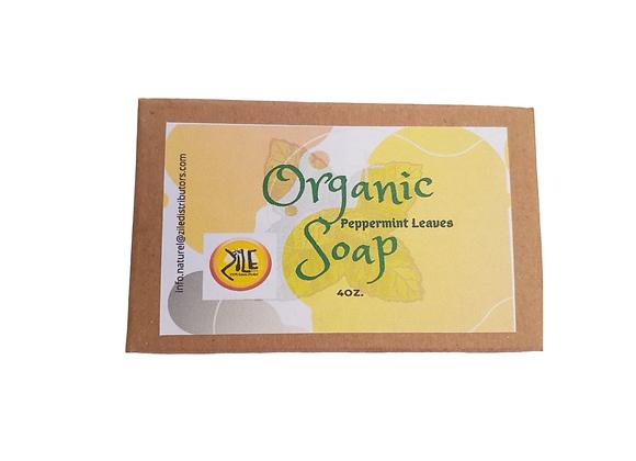 Organic Peppermint Leaf Soap