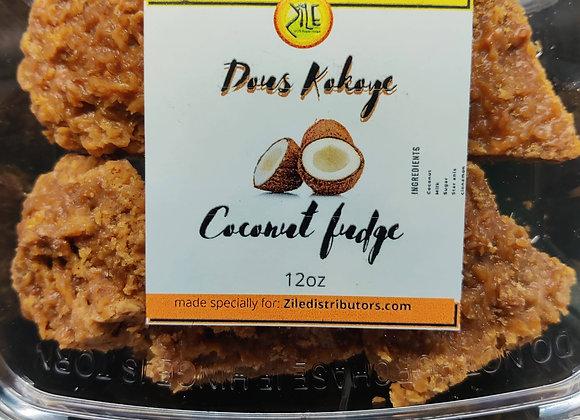 dous kokoye/coconut fudge