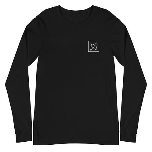 CQ Embroidered Unisex Long Sleeve Tee