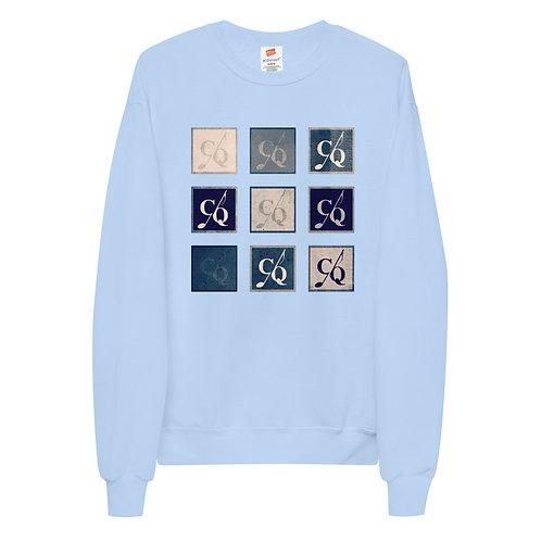 Light Blue Unisex fleece sweatshirt