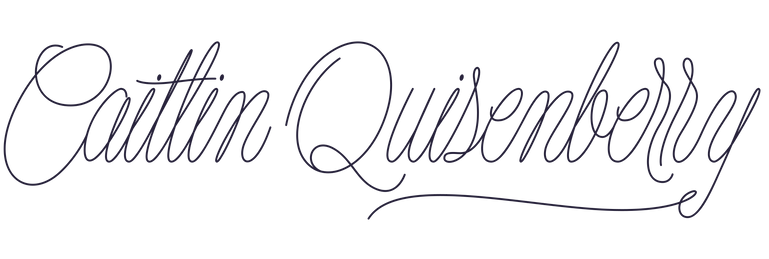 Main Lettering Caitlin Quisenberry-White