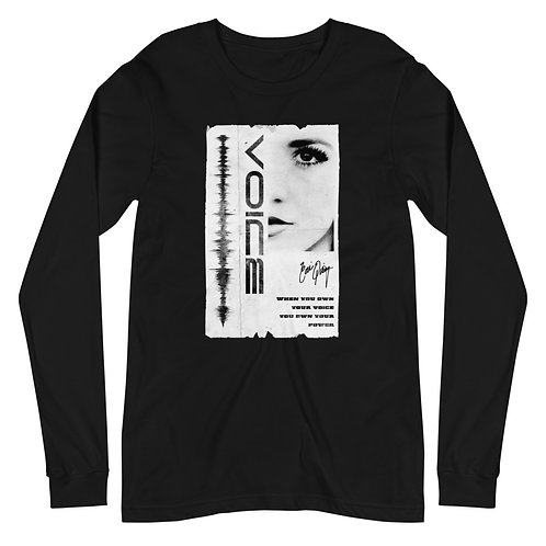 Use Your Voice Long Sleeve Tee