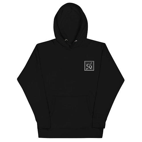 Embroidered CQ Logo Unisex Hoodie