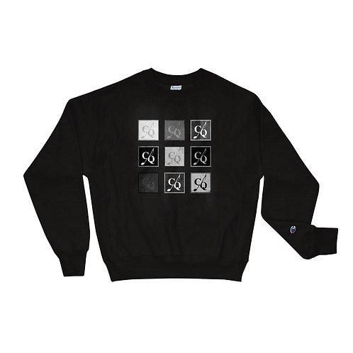 CQ Pattern Logo Champion Sweatshirt