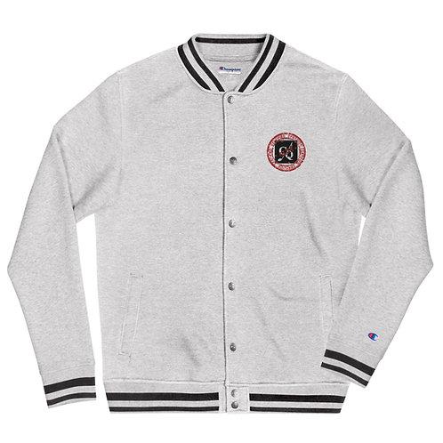 Unisex CQ Club Embroidered Champion Bomber Jacket