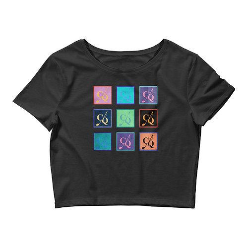 CQ Multicolored Crop Top