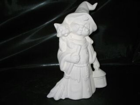 Friendly Witch Woman
