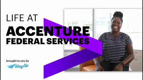 Accenture Federal Services - Early Career Recruitment